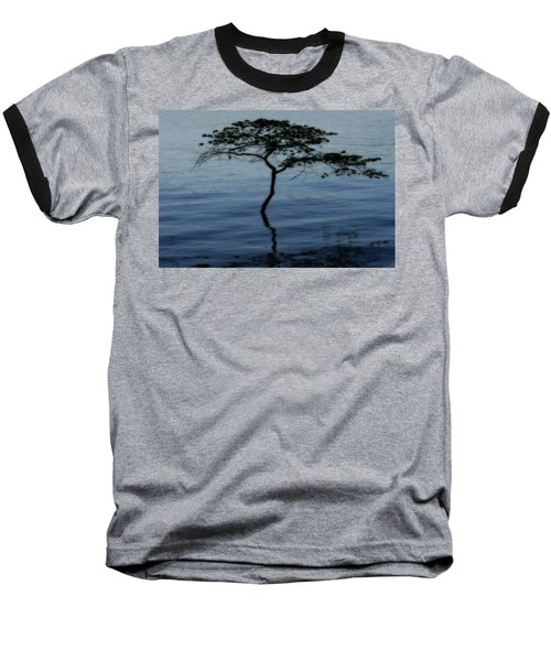 Solitaire Tree Baseball T-Shirt