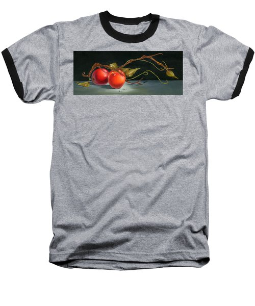 Solitary Apples Baseball T-Shirt