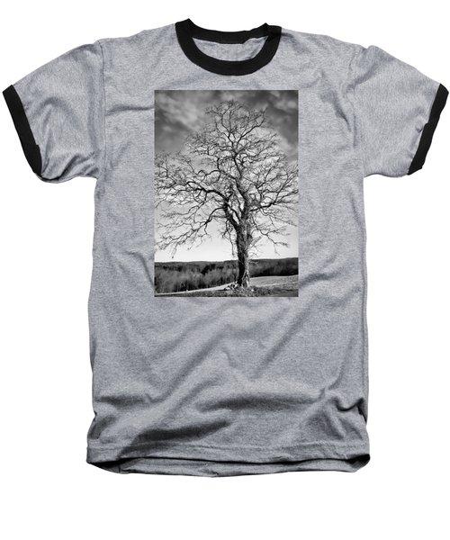 Solitude Baseball T-Shirt by Wayne King