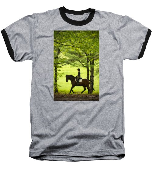 Baseball T-Shirt featuring the photograph Solitude by Joan Davis