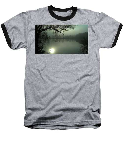 Solitude Baseball T-Shirt by Joe Faherty