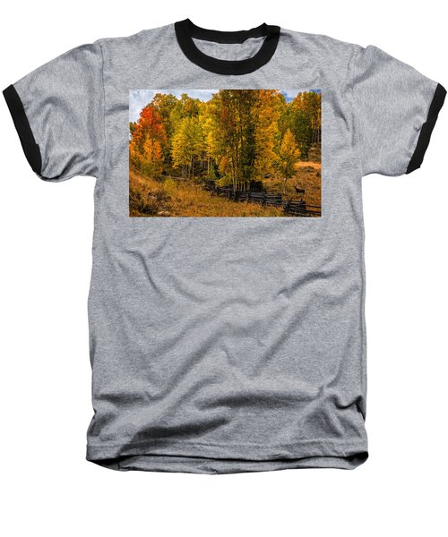 Baseball T-Shirt featuring the photograph Solitude by Ken Smith
