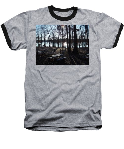 Baseball T-Shirt featuring the photograph Solitude by Fortunate Findings Shirley Dickerson