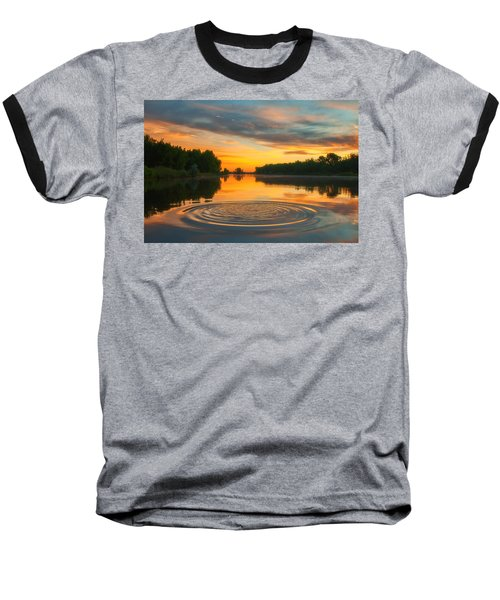 Solstice Ripples Baseball T-Shirt