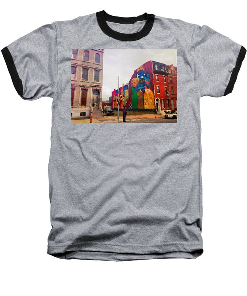 Some Color In Philly Baseball T-Shirt