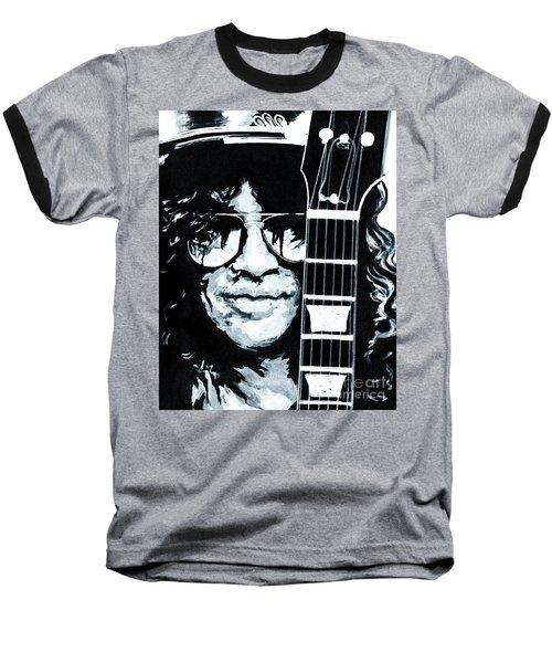 Some Cool Guitar Player- Slash Baseball T-Shirt