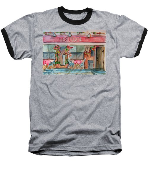 Someplace French Baseball T-Shirt