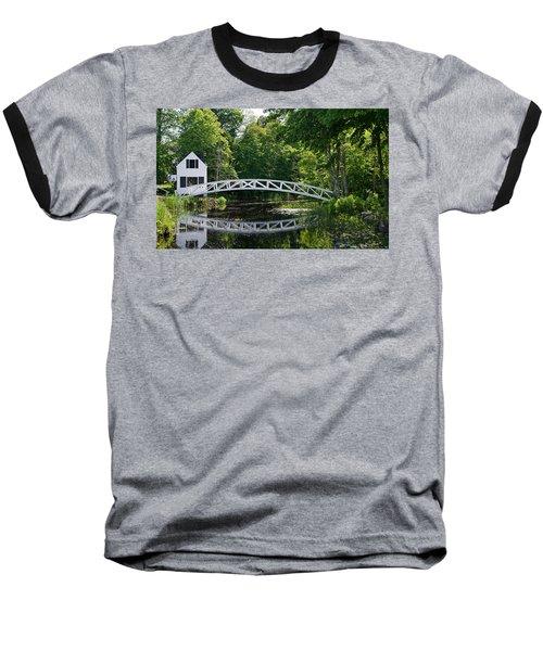 Somesville Bridge Baseball T-Shirt