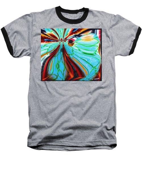 Something Is Watching Me Baseball T-Shirt