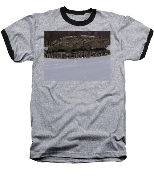 John Hinker's Coal Dock. Baseball T-Shirt by Jonathon Hansen