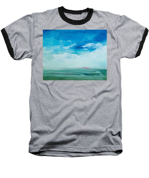 Somewhere Beyond The Sea Baseball T-Shirt by Lee Beuther