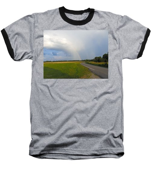 Somewhere Under The Rainbow Baseball T-Shirt