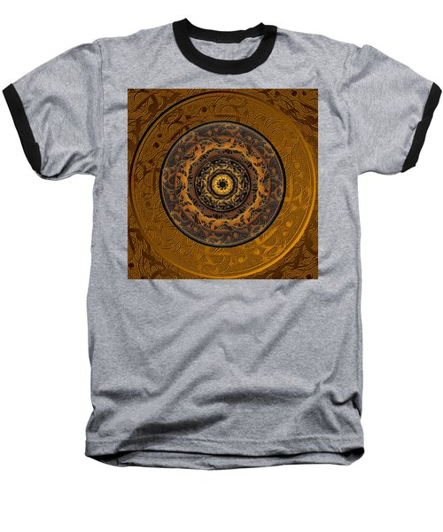 Song Of Heaven Mandala Baseball T-Shirt by Michele Avanti