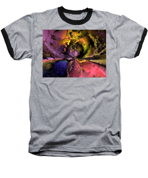 Song Of The Cosmos Baseball T-Shirt by Claude McCoy