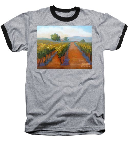 Sonoma Vineyard Baseball T-Shirt