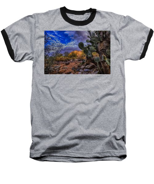 Baseball T-Shirt featuring the photograph Sonoran Desert 54 by Mark Myhaver
