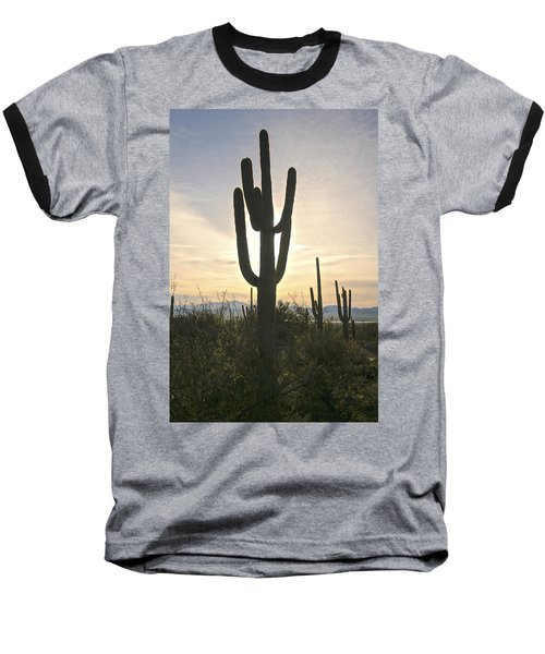 Sonoran Desert View Baseball T-Shirt
