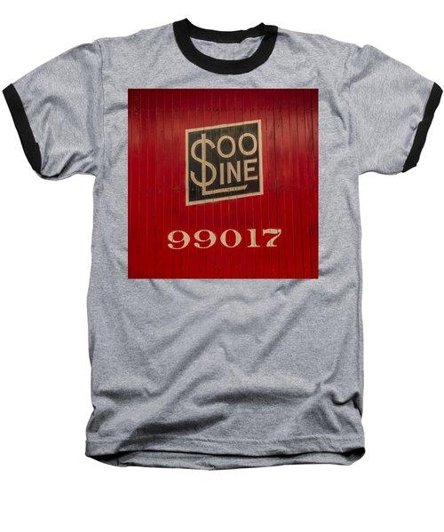 Soo Line Box Car Baseball T-Shirt