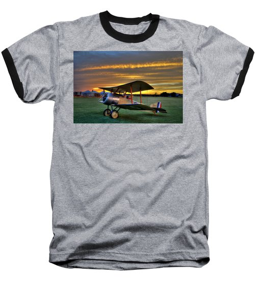 Sopwith Sunset Baseball T-Shirt