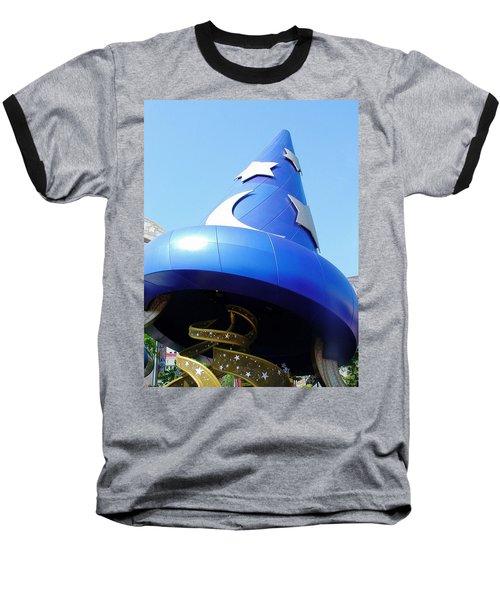 Sorcery Baseball T-Shirt by David Nicholls