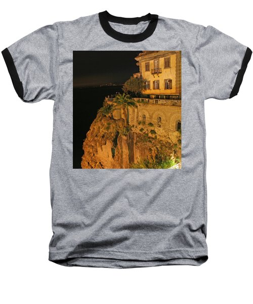 Sorrento Italy Baseball T-Shirt by Richard Engelbrecht