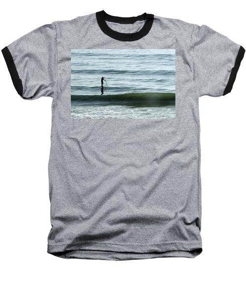 Soul Searcher Baseball T-Shirt by Shoal Hollingsworth