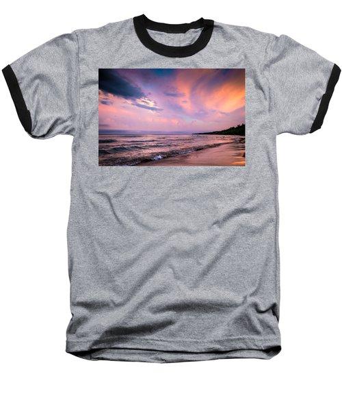 South Beach Clouds Baseball T-Shirt