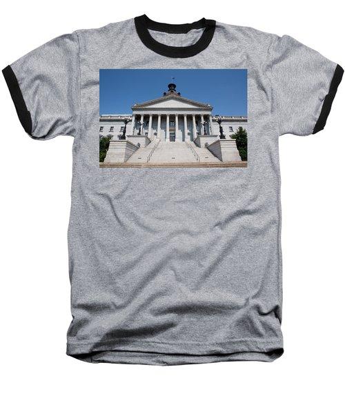 South Carolina State Capital Building Baseball T-Shirt