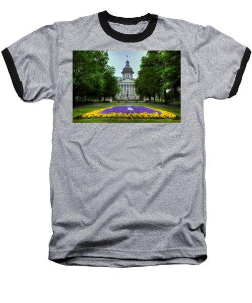 South Carolina State House Baseball T-Shirt by Michael Eingle