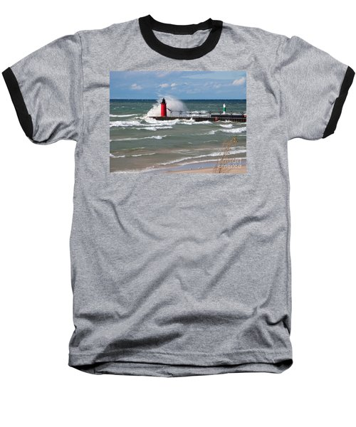 South Haven Splash Baseball T-Shirt