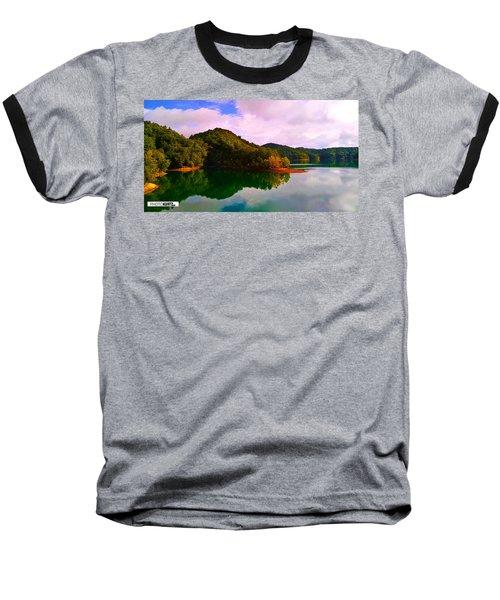 North Holston Lake Mountains Baseball T-Shirt
