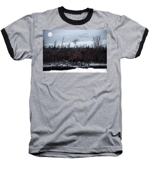 South To The Moon Baseball T-Shirt