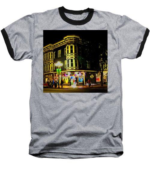 Southern California Streets At Sunset Baseball T-Shirt