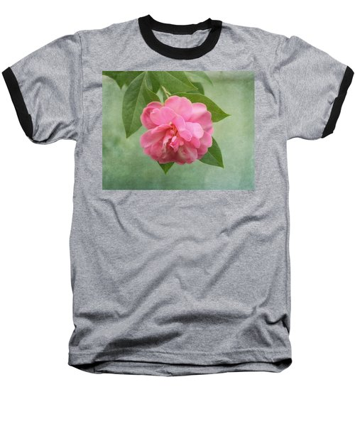Southern Camellia Flower Baseball T-Shirt