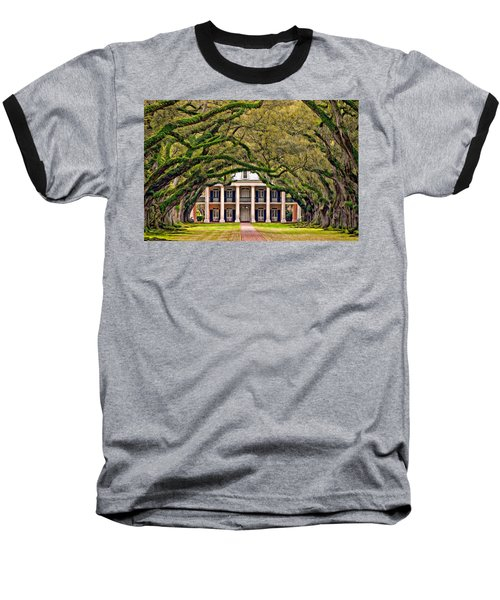 Southern Class Oil Baseball T-Shirt