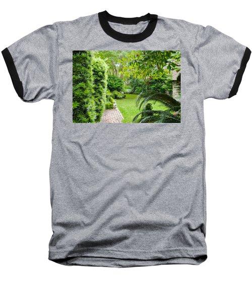 Baseball T-Shirt featuring the photograph Southern Garden Charleston South Carolina by Vizual Studio