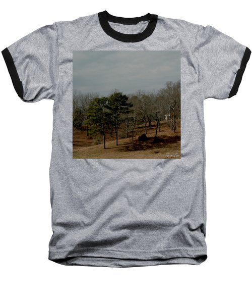 Baseball T-Shirt featuring the photograph Southern Landscape by Lesa Fine