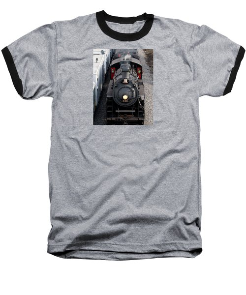 Southern Railway #630 Steam Engine Baseball T-Shirt