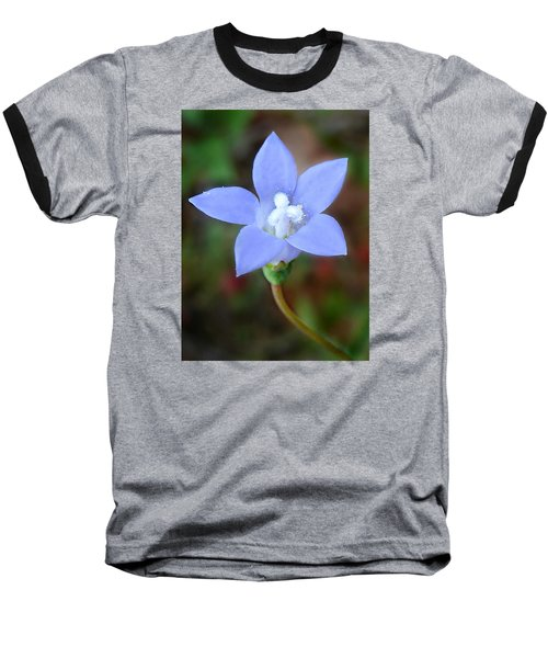 Wild Southern Rockbell  Baseball T-Shirt by William Tanneberger
