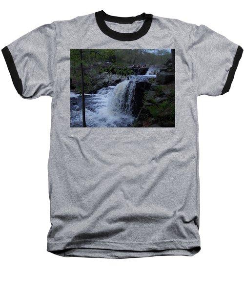 Southford Falls Baseball T-Shirt by Catherine Gagne