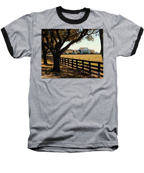 Southfork Ranch - Across The Pasture Baseball T-Shirt