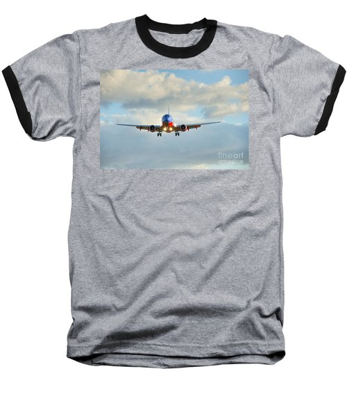 Southwest Airline Landing Gear Down Baseball T-Shirt