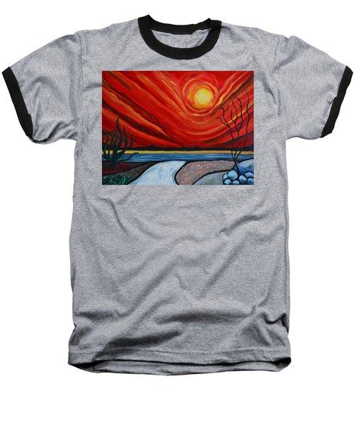 Southwest Desert Sun Baseball T-Shirt