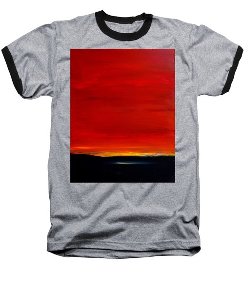 Southwest Desert Sunrise Baseball T-Shirt