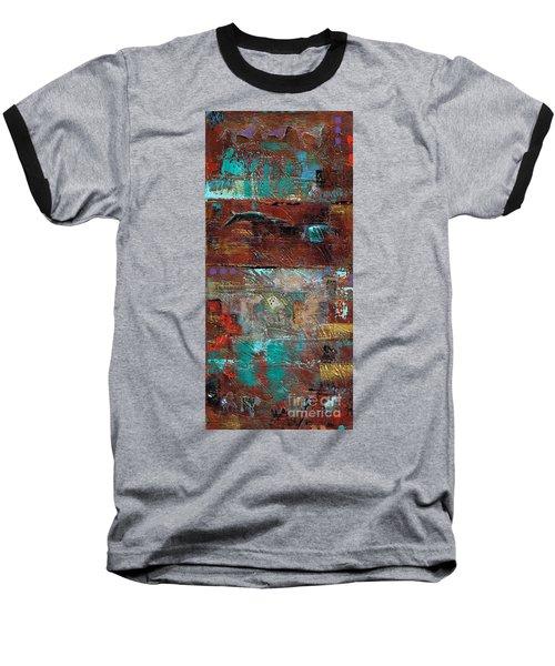 Southwest Horses Baseball T-Shirt
