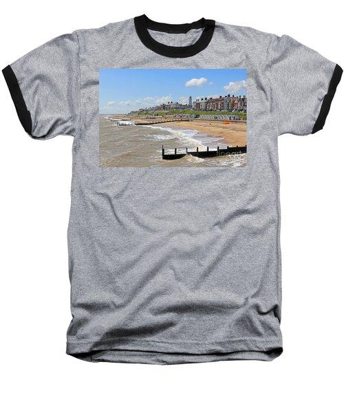 Southwold Beach 2 Baseball T-Shirt