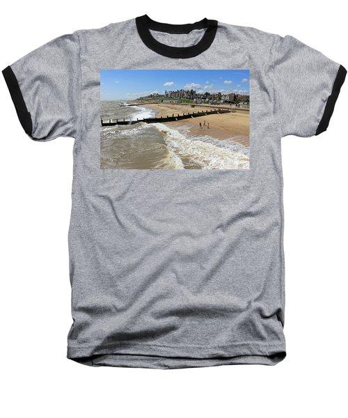 Southwold Beach Baseball T-Shirt