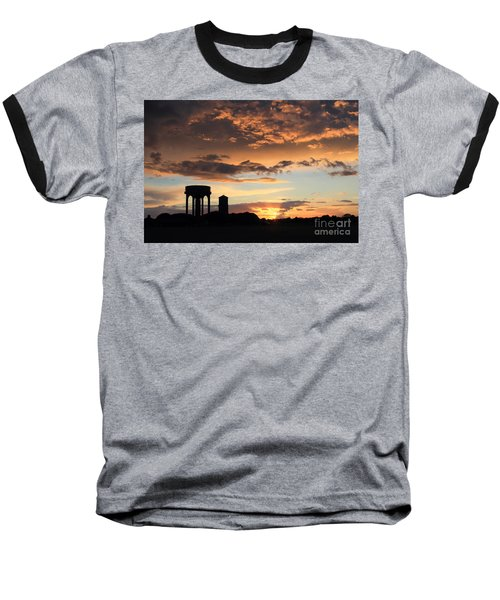 Water Towers On Southwold Common Baseball T-Shirt