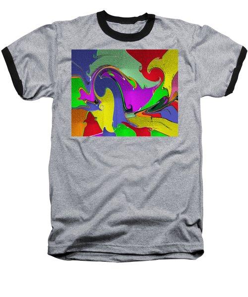 Space Interface Baseball T-Shirt