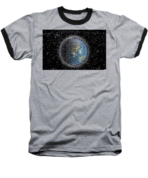 Baseball T-Shirt featuring the photograph Space Junk by Science Source